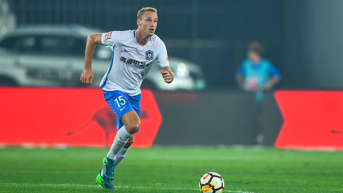 Felix Bastians spielt in China für Tianjin Teda