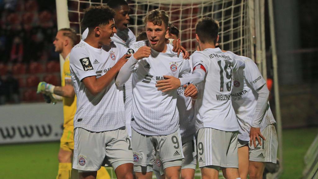 Fiete Arp traf für den FC Bayern II