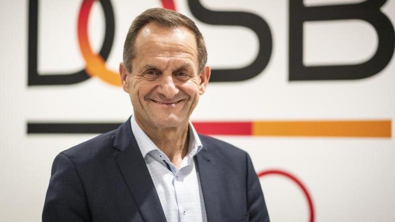 Alfons Hörmann begrüßt die Lockerungen für den Sport