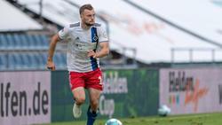 Manuel Wintzheimer überzeugte bei seiner HSV-Rückkehr
