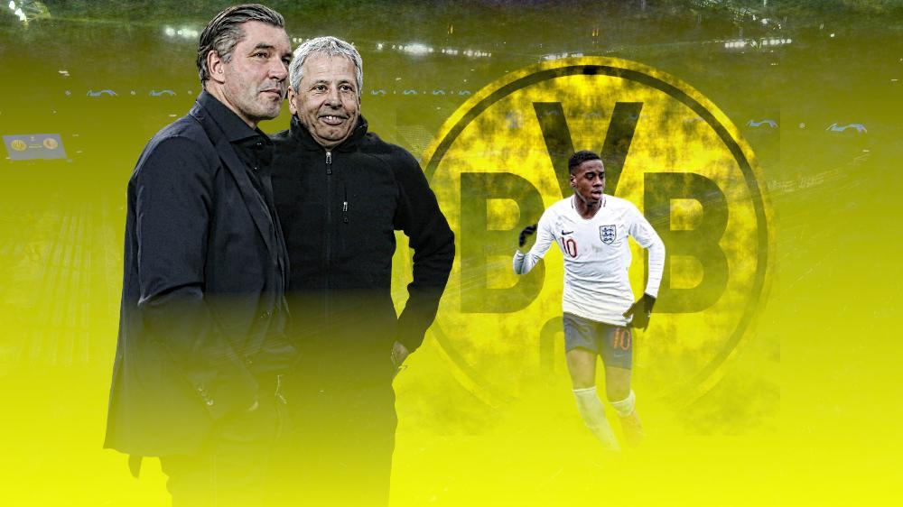 Der BVB hat Jamie Bynoe-Gittens verpflichtet