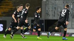 Der Karlsruher SC setzte sich gegen den SV Darmstadt 98 durch