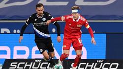 Arminia Bielefeld und Union Berlin trennen sich unentschieden