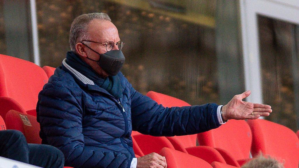 Karl-Heinz Rummenigge vom FC Bayern ist kein Freund der Super League