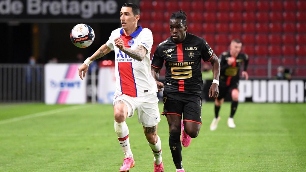 Faitout Maouassa (r.) soll bei Eintracht Frankfurt hoch im Kurs stehen