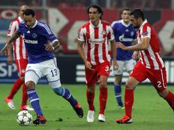 Schalkekommt in die Partie