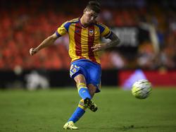 El argentino De Paul no ha triunfado en el Valencia. (Foto: Getty)