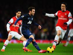 Arsenal und United trennten sich mit einem torlosen Remis