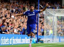 Diego Costa ist erneut für Chelsea erfolgreich