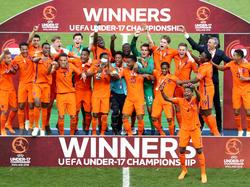 Die niederländische U17 ist Europameister 2018
