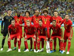 El once inicial de Bélgica ante Brasil. (Foto: Getty)