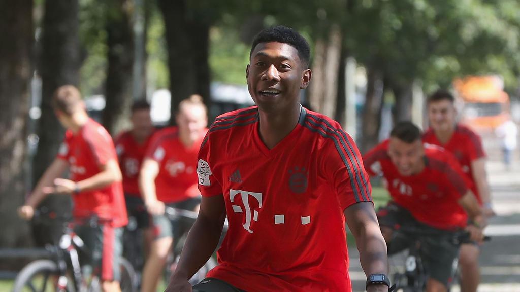 Steigt am Mittwoch ins Training bei den Bayern ein: David Alaba