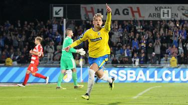 Phillip Tietz erzielte den Siegtreffer für Jena