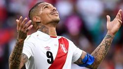 Paolo Guerrero wird Peru gegen Deutschland fehlen