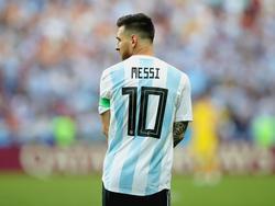 Messi después de quedar fuera del Mundial con Argentina. (Foto: Getty)