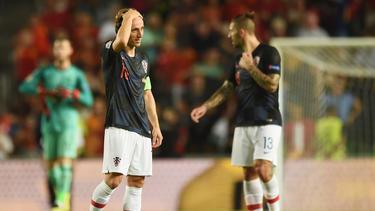 Luka Modric und die Kroaten gingen gegen Spanien unter