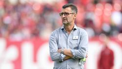 Club-Trainer Michael Köllner muss in nächster Zeit auf Eduard Löwen verzichten