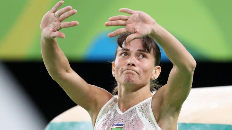 Oksana Chusovitina strebt als erste Turnerin 2020 ihre achten Olympischen Spiele an