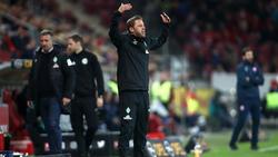 Werder-Coach Florian Kohfeldt kassierte in Mainz die zweite Ligapleite in Folge