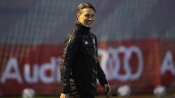 Niko Kovac beim Abschlusstraining am Dienstag