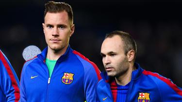 Marc-André ter Stegen und Andrés Iniesta sind seit ihrer gemeinsamen Zeit beim FC Barcelona befreundet