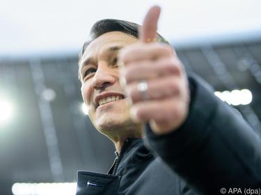 Niko Kovac will als Tabellenerster in die Länderspielpause