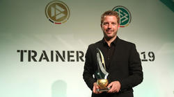 Florian Kohfeldt wurde mit dem Trainerpreis 2018 ausgezeichnet