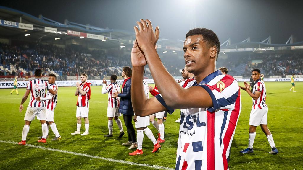 Alexander Isak ist derzeit vom BVB an Willem II ausgeliehen