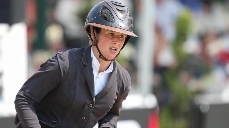 Katrin Eckermann ritt auf Caleya zum Sieg bei der ersten Etappe der Riders Tour