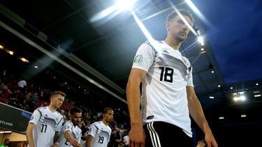 Die deutsche Nationalmannschaft feierte am Dienstag in Mainz