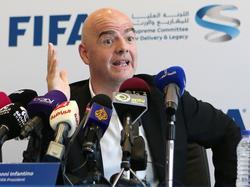 FIFA-Boss Gianni Infantino soll wenig preisgegeben haben