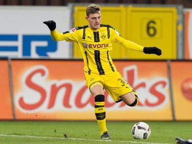 Jacob Bruun Larsen und die A-Junioren des BVB stehen im Achtelfinale der Youth League