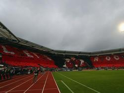 Das Stadion des 1. FCNürnberg bietet insgesamt 50 000 Fans Platz