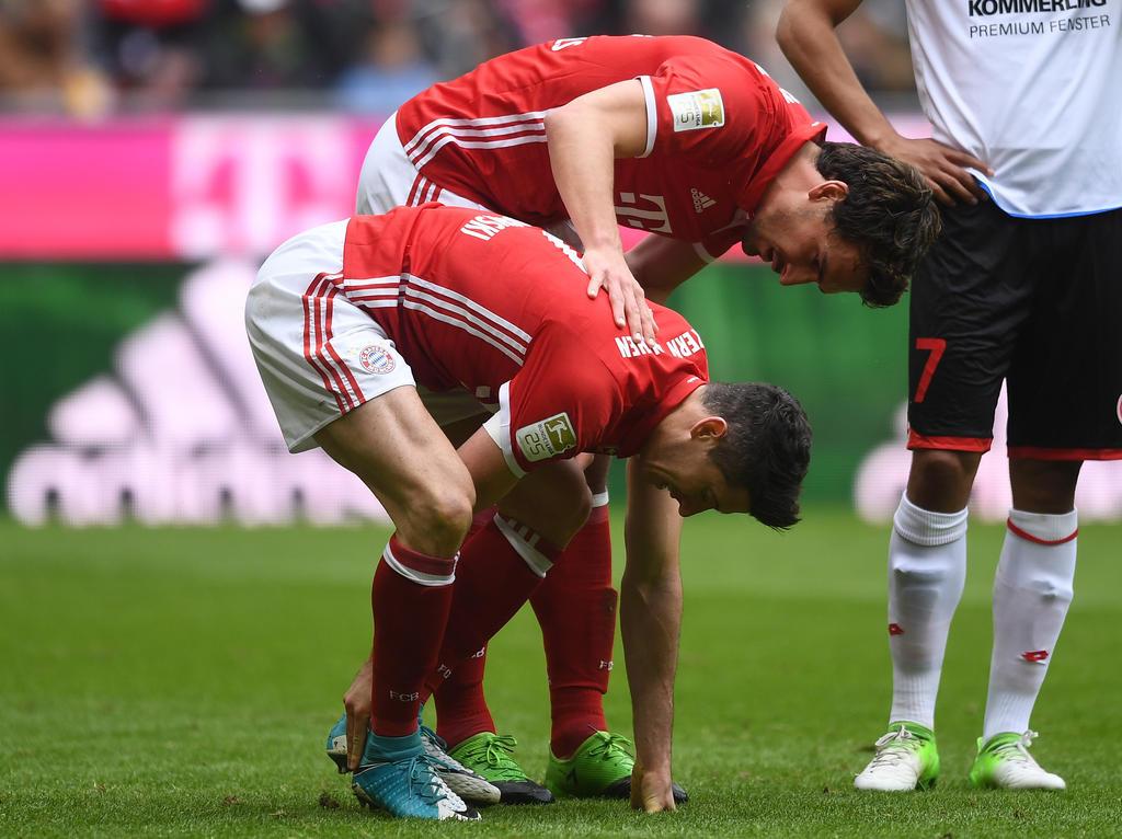 Robert Lewandowksi und Mats Hummels können gegen Leverkusen nicht mitwirken.