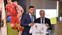 Luka Jovic ist gerade erst von Eintracht Frankfurt zu Real Madrid gewechselt