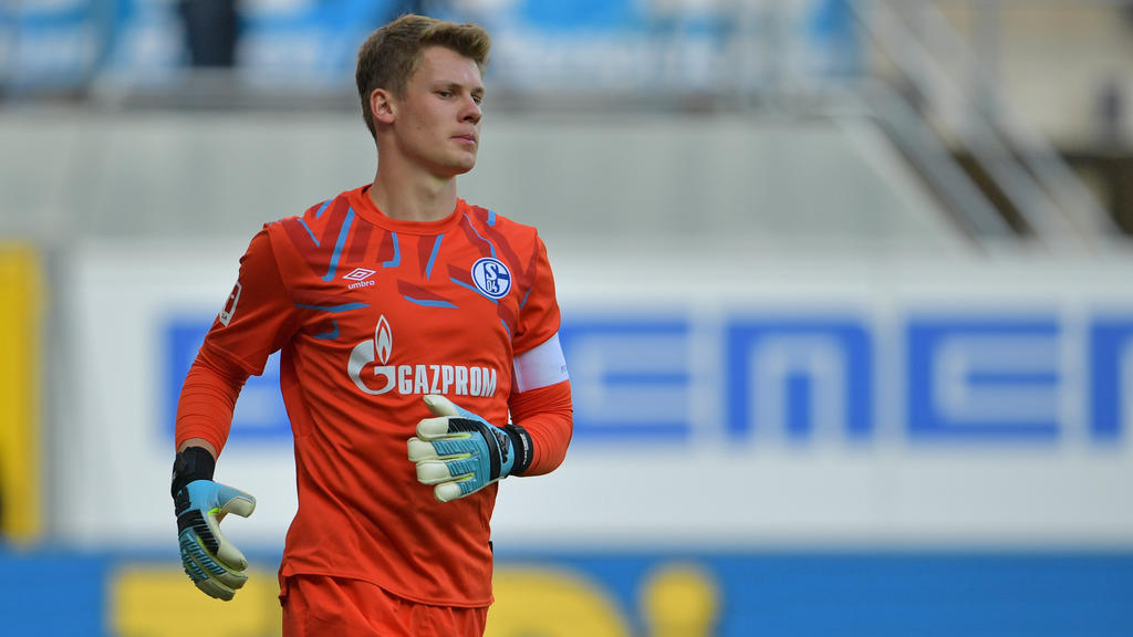 Alexander Nübel ist Führungsspieler beim FC Schalke 04