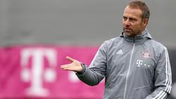 Hansi Flick hat den FC Bayern erstmals als Chefcoach trainiert