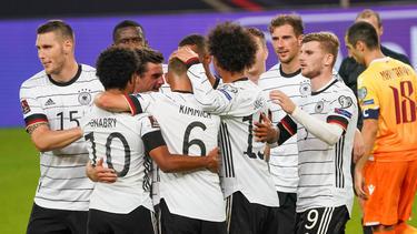 Die deutsche Nationalmannschaft spielte am Sonntag bravourös auf