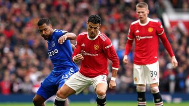 Cristiano Ronaldo konnte Manchester United nicht zum Sieg führen