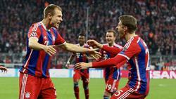 Holger Badstuber und Thomas Müller spielten lange gemeinsam für den FC Bayern