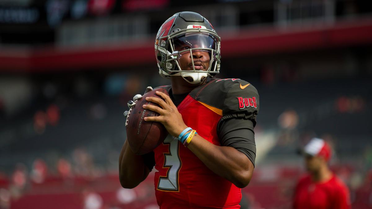NFL-Quarterback Jameis Winston ist für seine riskante Spielweise bekannt