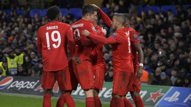 Der FC Bayern gewann am Dienstag beim FC Chelsea