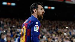 Nach Cristiano Ronaldo sendet auch Lionel Messi eine Botschaft