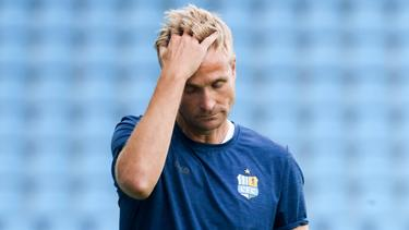 David Bergner war seit 2018 Trainer des Chemnitzer FC