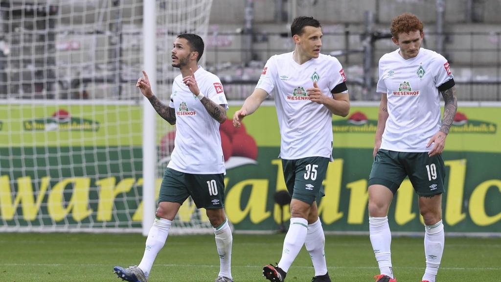 Werder Bremen setzte sich beim SC Freiburg durch