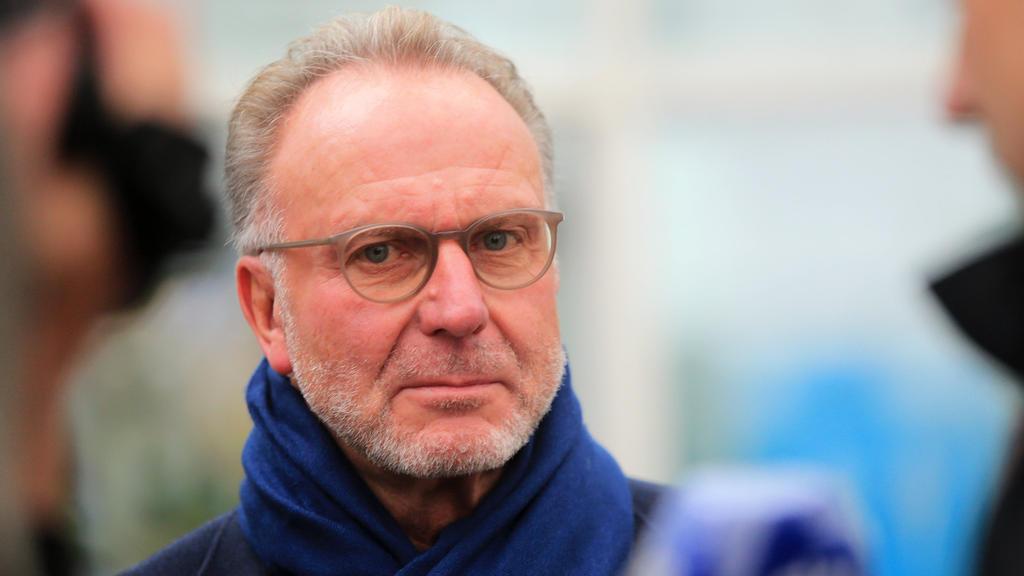Karl-Heinz Rummenigge vom FC Bayern warnt vor einem erneuten Lockdown