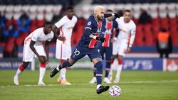 Neymar erzielte gegen RB Leipzig das Tor des Tages