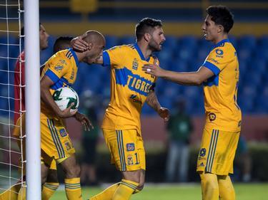 Gignac acudió de nuevo a su cita con el gol.
