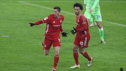 Robert Lewandowski traf doppelt für den FC Bayern München