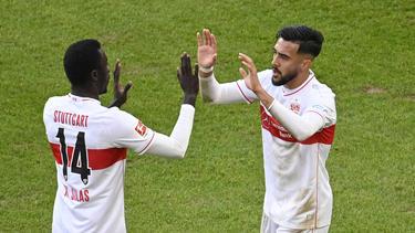 Starten beim VfB Stuttgart durch: Silas Wamangituka und Nicolás González